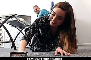 FamilyStrokes Time Step Daughter Becomes Full Time Slut