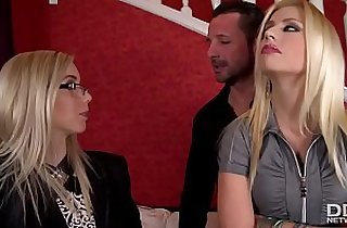 Sexy Real Estate Agent Fucks her clients for the Sale