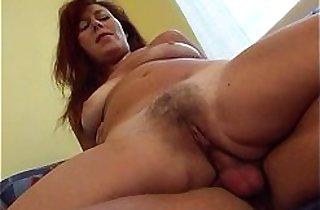 Horny Stepmom Has Sex With Me In Our Living Room