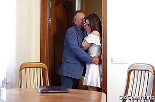 Old Goes Young Teen seduced by a man three times her age
