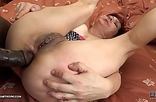 Grannies Hardcore Interracial Porn movie with Old Women loving Black monster Cocks