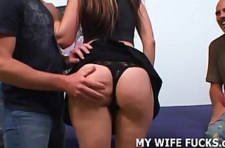 Watch your hot wife getting fucked real hard