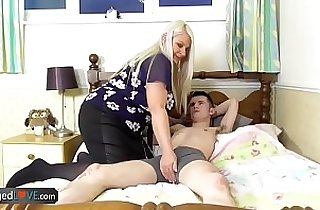 AgedLovE Old Busty amateur Blonde Grannies Lacey Hardcore