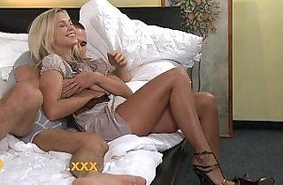 ORGASMS Amazing young blonde loves riding to orgasm