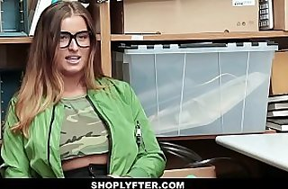 Shoplyfter Big Tittied Teen Groped and Fucked