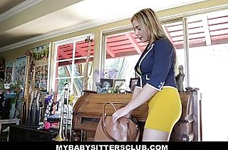 MyBabySittersClub Hot Baby Sitter Craves Big Cocks