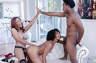 FILTHY FAMILY Misty Stone, Jenna Foxx, Xavier Miller, and Jack Blake Keep It In The Family