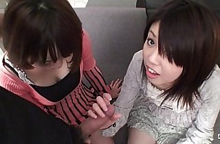 Subtitled Uncensored Japanese CFNM blowjob in Full HD
