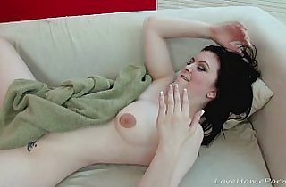 Beautiful black babe gets penetrated