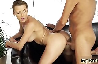 Old man sucking cock and woman with her boychums father after
