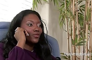 Classy MILF fucked by her goofy clients black cock
