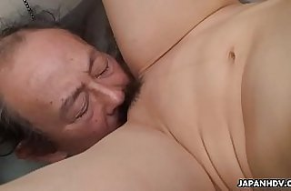 Filthy cheating sexy wife getting her pussy eaten by the dude
