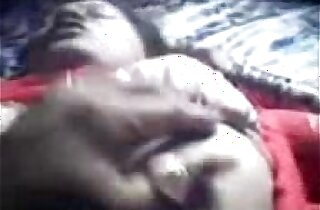 Bangla GF In Red Saree Boob Show up for Hard Press wid Audio