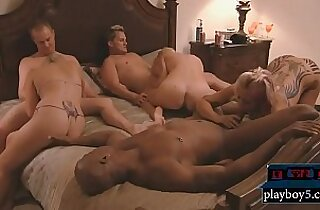 Long time married couple try to be swingers