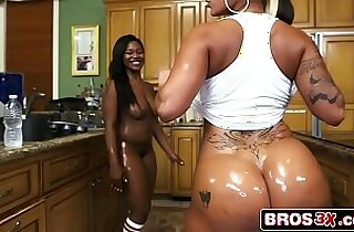 Double The Hot Huge Asses Spicy J Nina Rotti