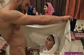 Arab Bachelorette Party Turns Into Hot Orgy
